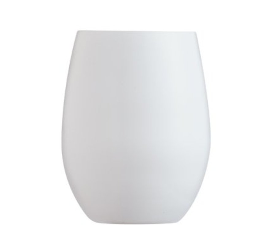 Primary White Waterglas 36cl Set6