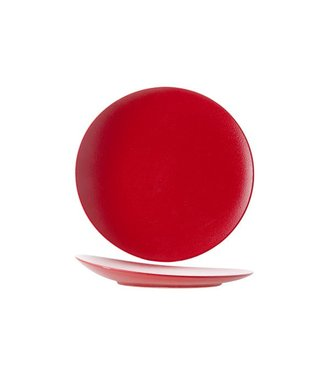Cosy & Trendy For Professionals Dazzle Red Plat Bord D27cm Elevatedcoupe