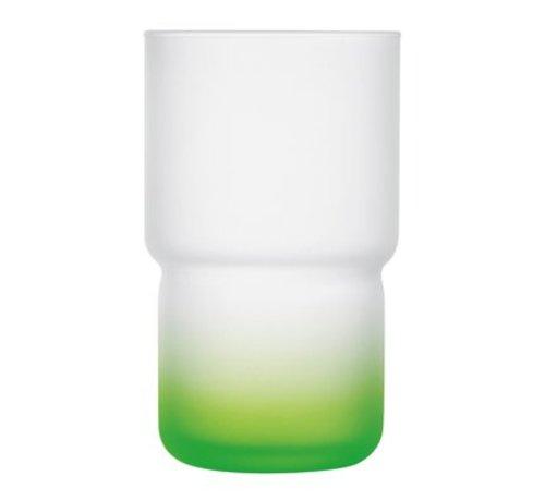 Luminarc Troubadour Glas 32cl Groen (set van 6)