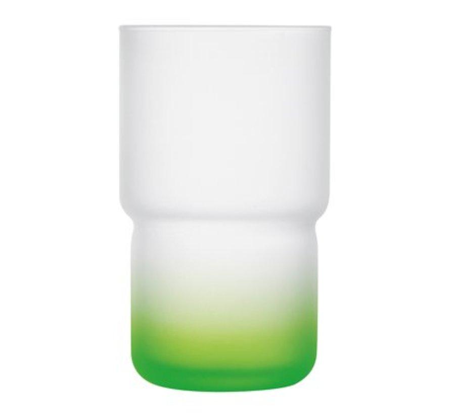Troubadour Glas 32cl Groen (set van 6)