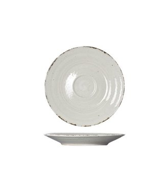 Cosy & Trendy Avalon - Grijs - Koffieschotels - Porselein - D16.5xh2cm -  (set van 6)