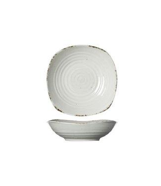 Cosy & Trendy Avalon Square Dish 17.5x17.5xh4.5cm (set of 4)