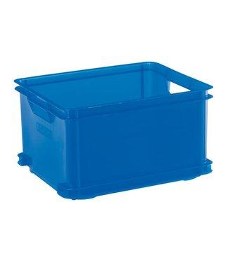 Curver Unibox - Opbergbox - Blauw - 30L - 43x35xh24 - (set van 3)