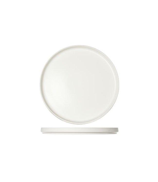 Cosy & Trendy 1350-White - Dessertbord - D22xh2cm - Porselein - (Set van 6)
