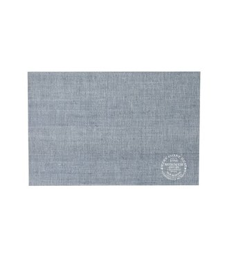 Cosy & Trendy Placemat Pvc Woven Slate Gray - Printed45x30cm