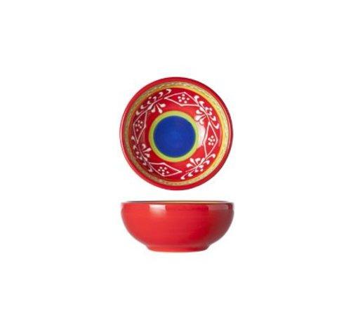 Cosy & Trendy Sombrero Red Kom D8.5xh3.5cm (set van 12)