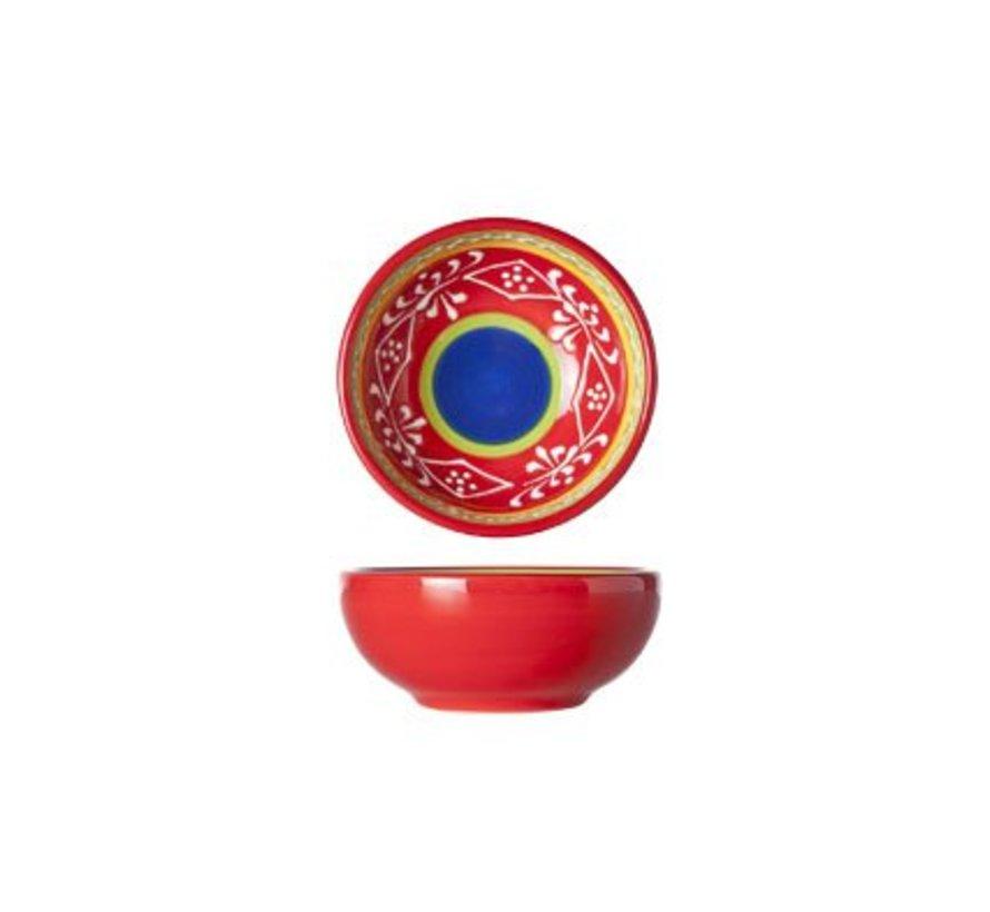 Sombrero Red Kom D8.5xh3.5cm (set van 12)