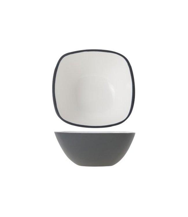 Cosy & Trendy Alu - Bowl - Wit - 12.5xh5cm - Aluminium - (set van 6)