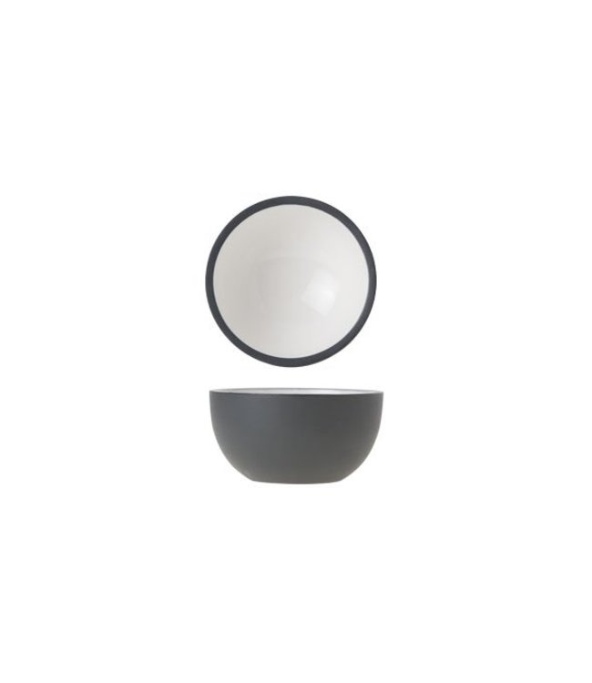 Cosy & Trendy Alu - Bowl - Wit - 6.5xh3.cm - Aluminium - (set van 6)