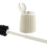 Curver Knit Toiletborstel Met Houder Oasis White