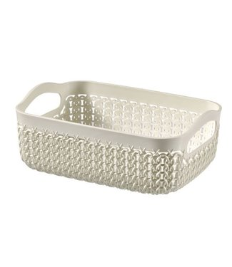 Curver Knit Tray A6 1.3 L Oasis White (set of 4)