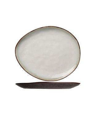 Cosy & Trendy Plato Oval Plate Matt 19.5x16cmexterior Matt (set of 6)