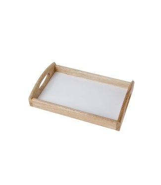 Cosy & Trendy Mini-dienblad 25x15.5x5cm Rubberwood