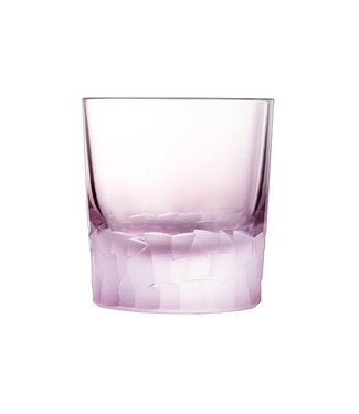 Cristal D'arques Intuition Tumbler Fb 32  Amethyste (set of 6)