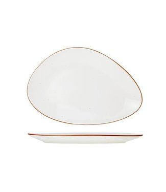 Cosy & Trendy For Professionals Terra Arena Plate Triangle 37cm