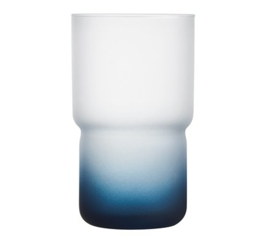 Troubadour Waterglas 32cl Blauw