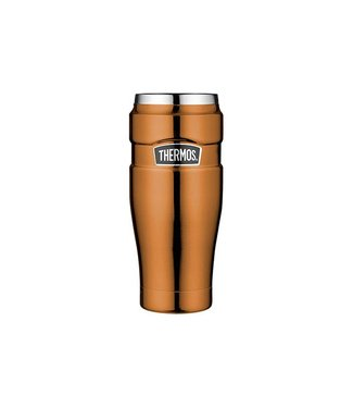 "Thermos ""King Tumbler Mug"" Copper color 470ml without Handle (20 * 7 cm)"