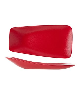 Cosy & Trendy For Professionals Dazzle Red Plate 29x15.5cm