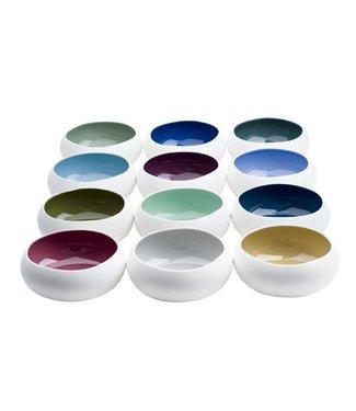 Cosy & Trendy For Professionals Rainbow Schaaltje 85cl D16xh6,5cm   - Aardewerk (set van 12)