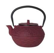 CT Takayama Teapot Red 1.2l cast iron