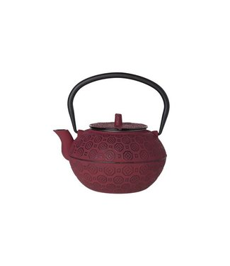Cosy & Trendy Takayama Theepot Rood 1.2l gietijzer
