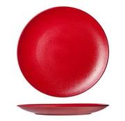 Cosy & Trendy For Professionals Dazzle Red  Plat Bord D27cm Coupe (set van 6)