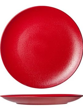 Cosy & Trendy For Professionals Dazzle Red Dinner Plate D27cm Coupe