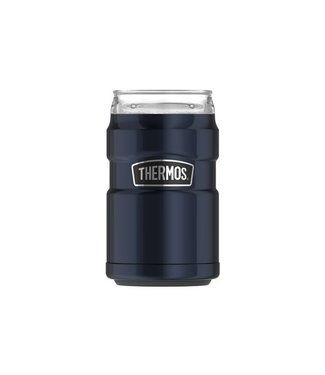 Thermos King 2en1 Ss Can Isulator Blue 290ml7.5x7.5x11.5cm