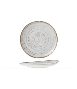 Cosy & Trendy For Professionals Madera Witte Koffieschotels Porselein D16cm - (Set van 6)