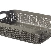 Curver Knit Tray A5 2.6l Harvest Brown 26x20x7cm