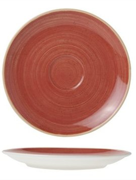 Cosy & Trendy For Professionals Twister Red Saucer D16cm