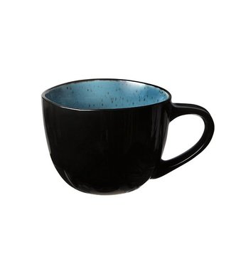 Cosy & Trendy Finesse-Blue - Coffee cups - 18cl - Ceramic - (set of 6)