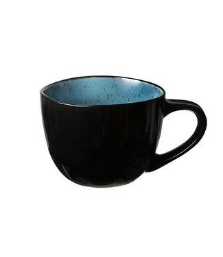 Cosy & Trendy Finesse Blue Koffiekopje 18cl Aardewerk - (Set van 6)