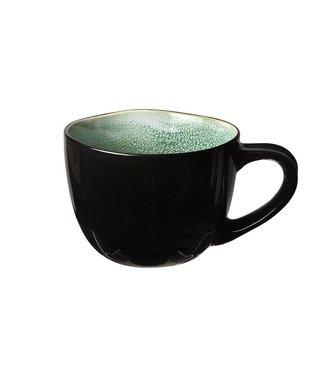 Cosy & Trendy Taza de café Finesse Green 18cl (juego de 6)