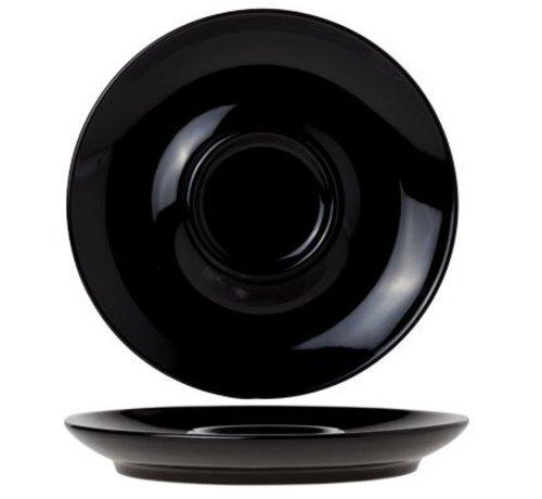 Brandless Bola Black Espresso Saucer D12.5cm