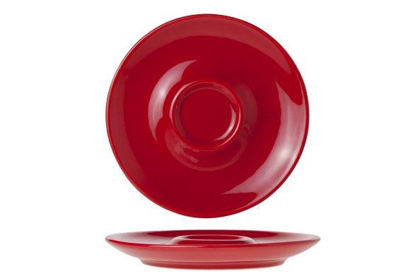 Brandless Bola Red Espressoschotel D12.5cm