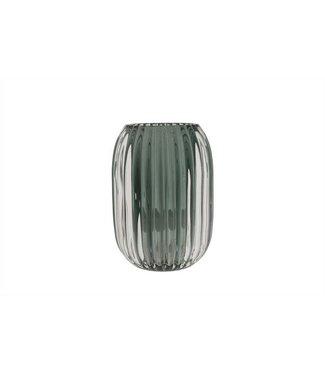 Cosy @ Home Tealighth Porto Dark Green 9,4x9,4xh13cmglass