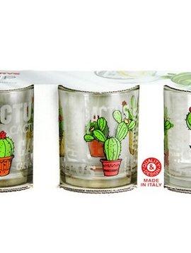 Cerve Cactus Glas 25 Cl Set 3