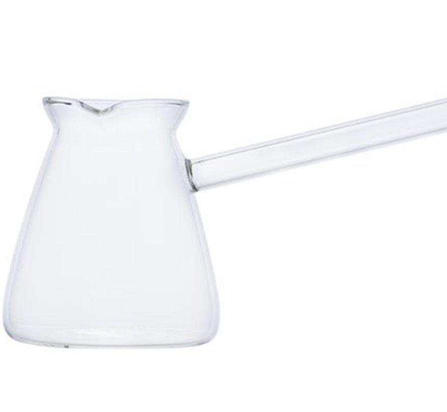 Koffie-whisky Kannetje Glas 6x14cm