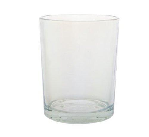 Cosy @ Home Theelichth. Clear Glas 10xh13cm