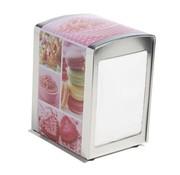 Cosy & Trendy Napkin Dispenser Metal Jupiler10.1x9.8xh14.1cm (6er Set)