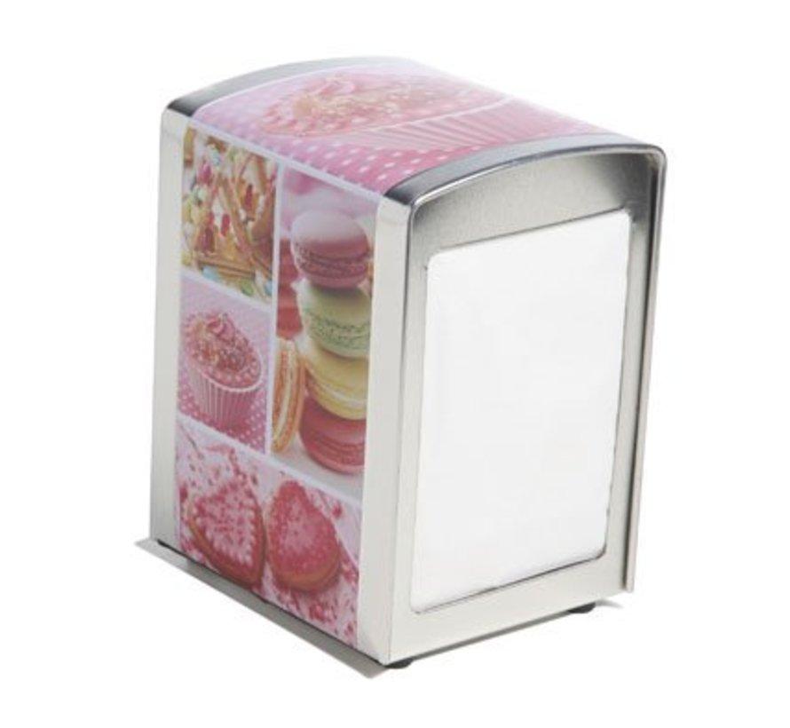 Napkin Dispenser Metal Jupiler10.1x9.8xh14.1cm (6er Set)