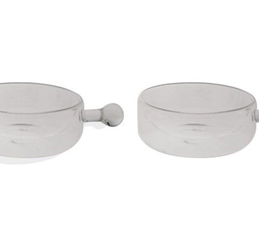 Isolate Bowl Dw Set2 10.7x4.1cm