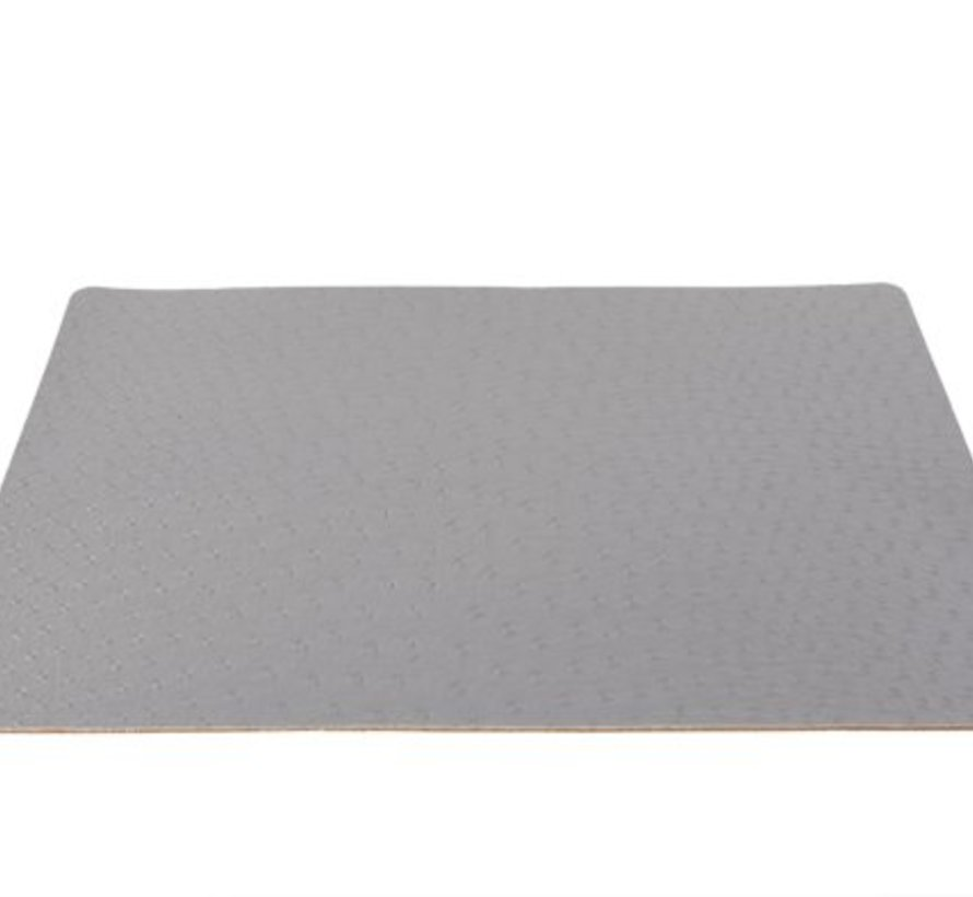 Placemat Leather Look Grey 43x30cm (12er Set)