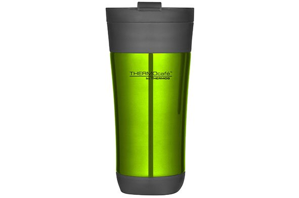 Thermos Flip Lid Tumbler Mug 425ml Glossy Groend10xh19.5cm - Zonder Handvat