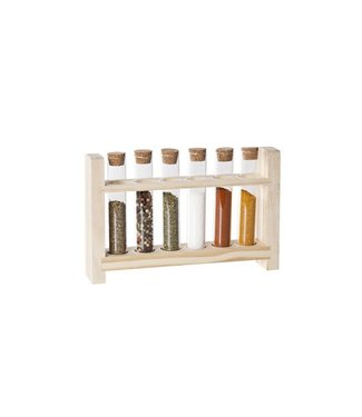 Cosy & Trendy Tubes With Wood Stand Set 722.5x3.8x14.5cm