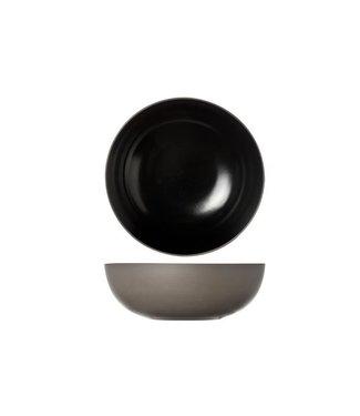 Cosy & Trendy 1350 Cuenco Negro D20xh6.5 cm juego de 2