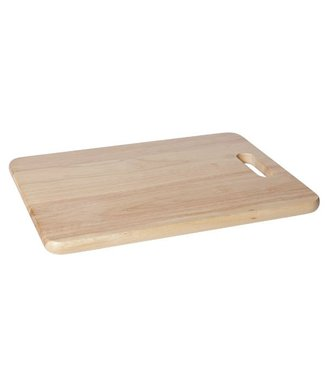 Cosy & Trendy Cutting Board Wood Rect 39x28x1,8cmwith Hole Handle