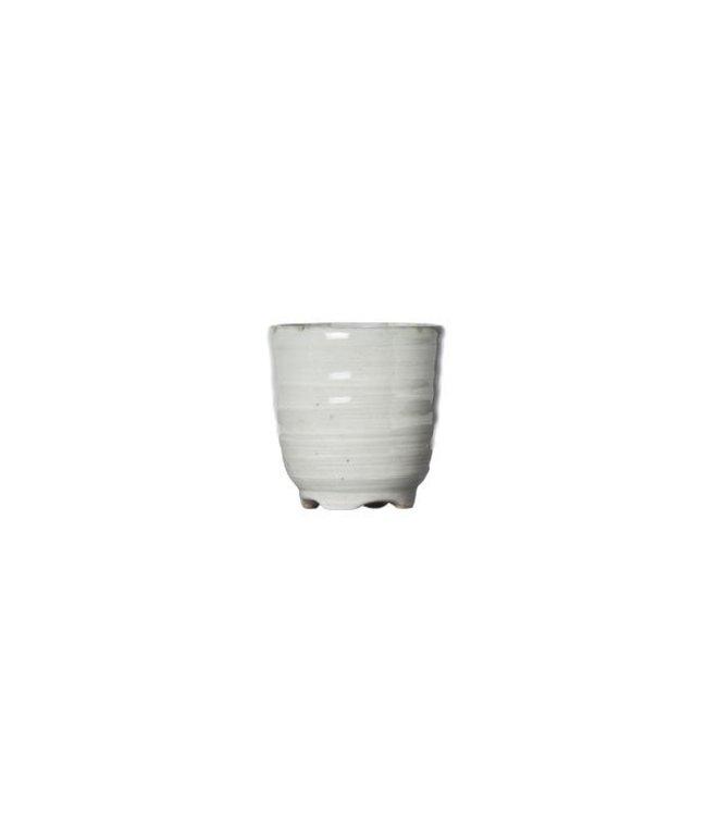 Cosy & Trendy Avalon - Sake Glas - Grijs - D5xh5cm - 50ml - Porselein - (set van 6)