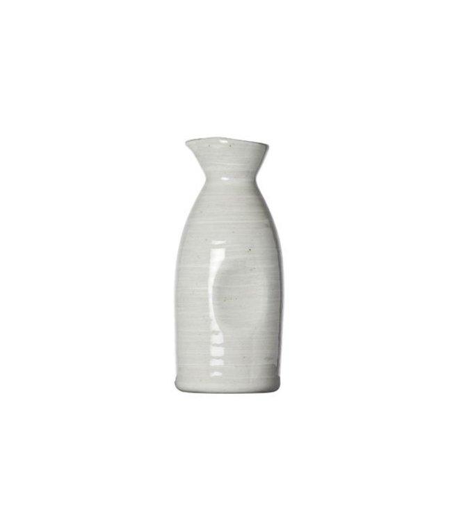 Cosy & Trendy Avalon - Mini-Karaf - Grijs - 340ml - D6.5x16cm - Porselein - (set van 6)